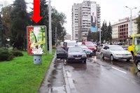 Ситилайт №177085 в городе Луцк (Волынская область), размещение наружной рекламы, IDMedia-аренда по самым низким ценам!