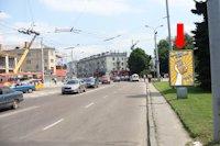 Ситилайт №177086 в городе Луцк (Волынская область), размещение наружной рекламы, IDMedia-аренда по самым низким ценам!