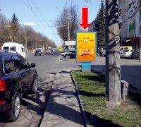 Ситилайт №177088 в городе Луцк (Волынская область), размещение наружной рекламы, IDMedia-аренда по самым низким ценам!