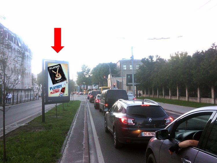 Скролл №177489 в городе Львов (Львовская область), размещение наружной рекламы, IDMedia-аренда по самым низким ценам!