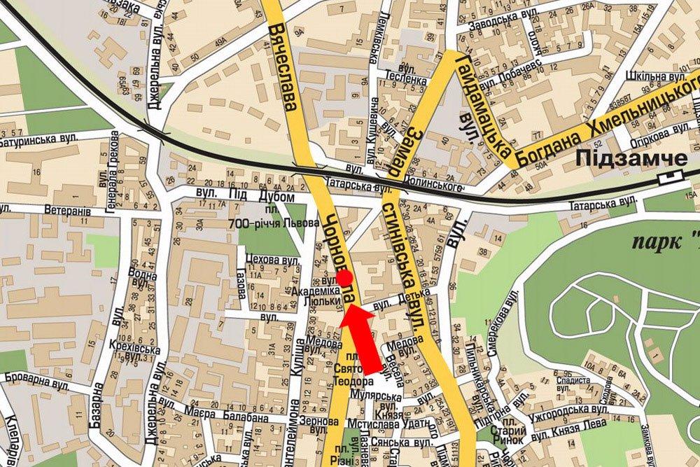 IDMedia Арендовать и разместить Скролл в городе Львов (Львовская область) №177489 схема