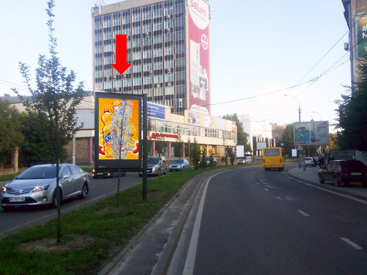 Скролл №177496 в городе Львов (Львовская область), размещение наружной рекламы, IDMedia-аренда по самым низким ценам!