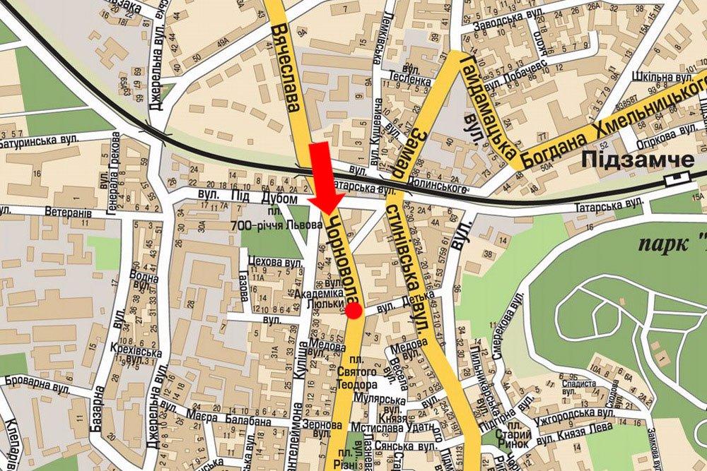 IDMedia Арендовать и разместить Скролл в городе Львов (Львовская область) №177504 схема