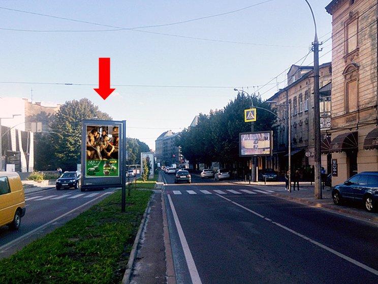 Скролл №177508 в городе Львов (Львовская область), размещение наружной рекламы, IDMedia-аренда по самым низким ценам!