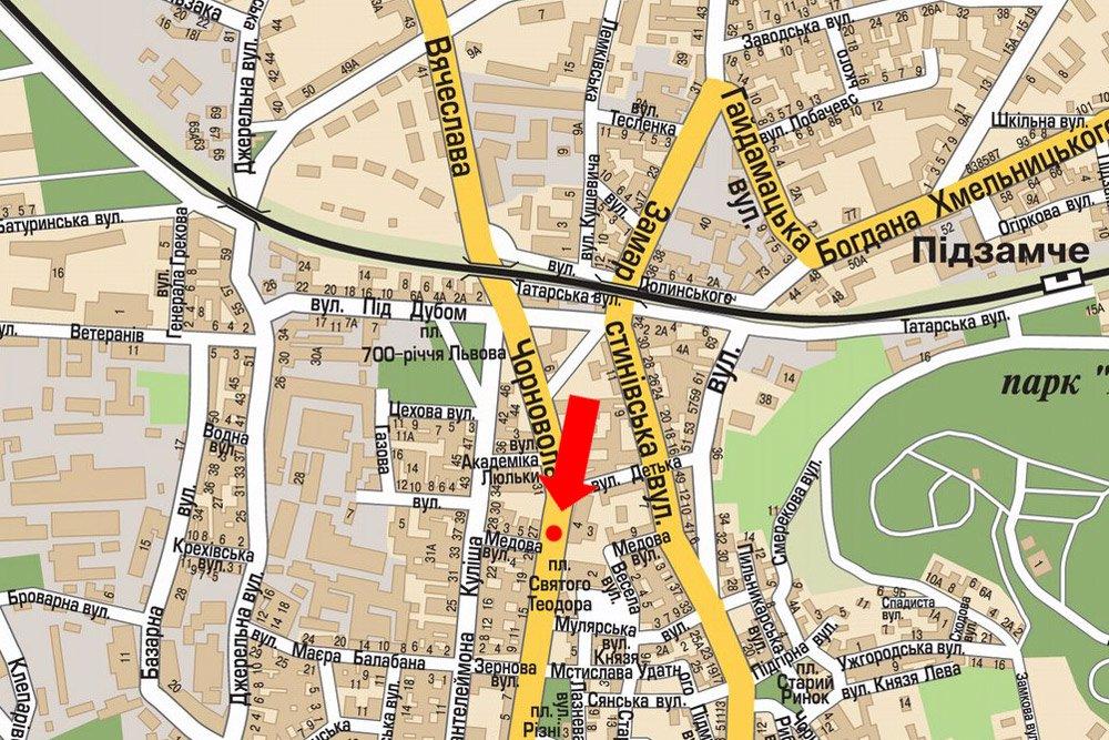 IDMedia Арендовать и разместить Скролл в городе Львов (Львовская область) №177509 схема