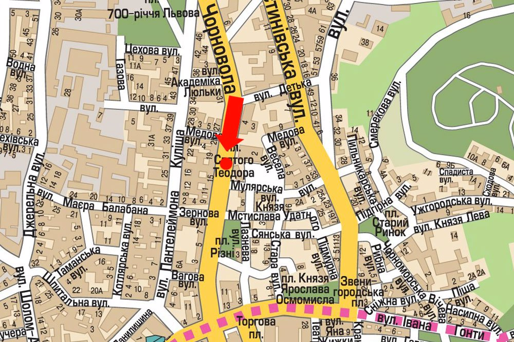 IDMedia Арендовать и разместить Скролл в городе Львов (Львовская область) №177513 схема