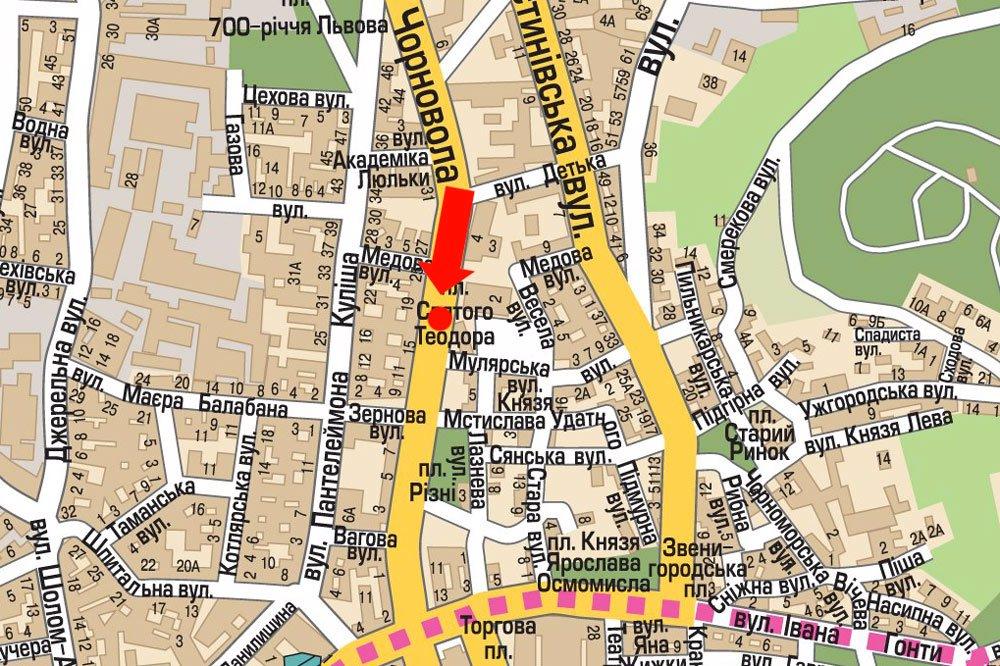 IDMedia Арендовать и разместить Скролл в городе Львов (Львовская область) №177516 схема