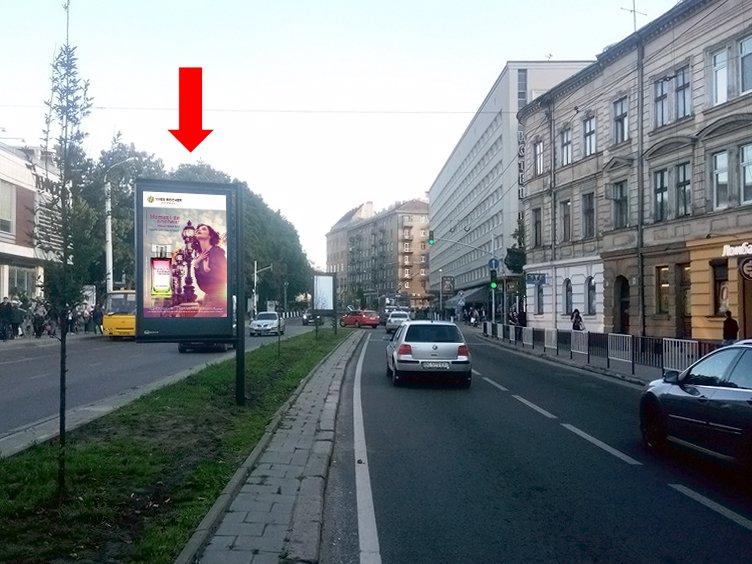 Скролл №177519 в городе Львов (Львовская область), размещение наружной рекламы, IDMedia-аренда по самым низким ценам!