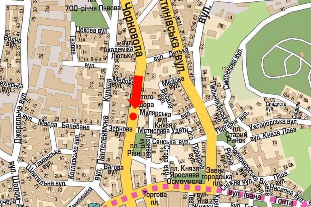 IDMedia Арендовать и разместить Скролл в городе Львов (Львовская область) №177521 схема