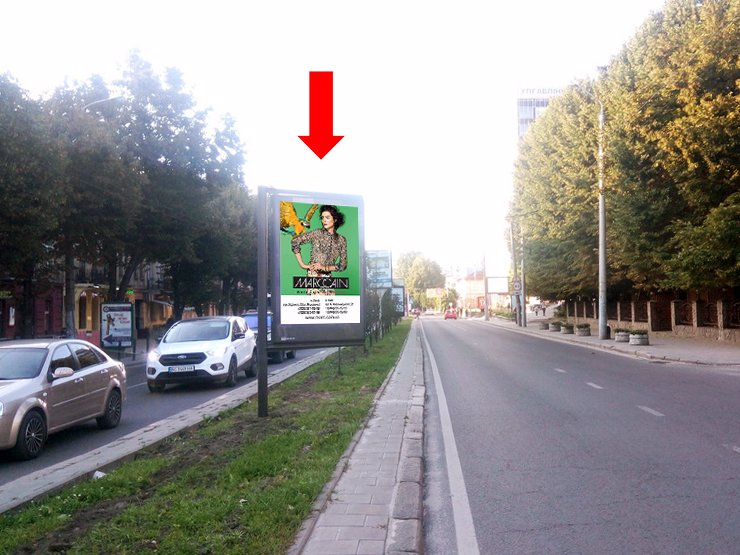 Скролл №177527 в городе Львов (Львовская область), размещение наружной рекламы, IDMedia-аренда по самым низким ценам!