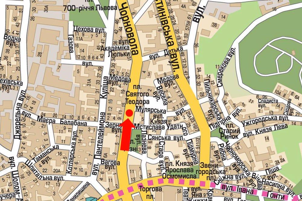 IDMedia Арендовать и разместить Скролл в городе Львов (Львовская область) №177528 схема
