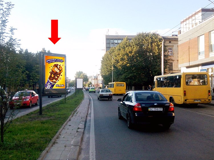 Скролл №177538 в городе Львов (Львовская область), размещение наружной рекламы, IDMedia-аренда по самым низким ценам!