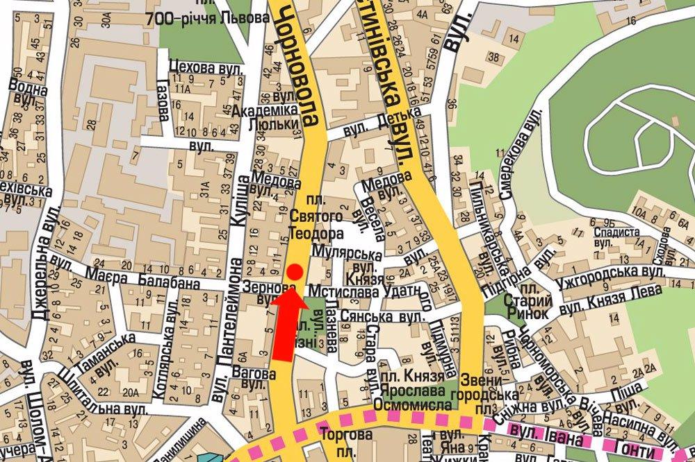 IDMedia Арендовать и разместить Скролл в городе Львов (Львовская область) №177540 схема