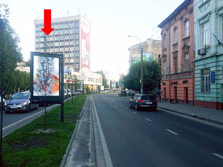 Ситилайт №177546 в городе Львов (Львовская область), размещение наружной рекламы, IDMedia-аренда по самым низким ценам!