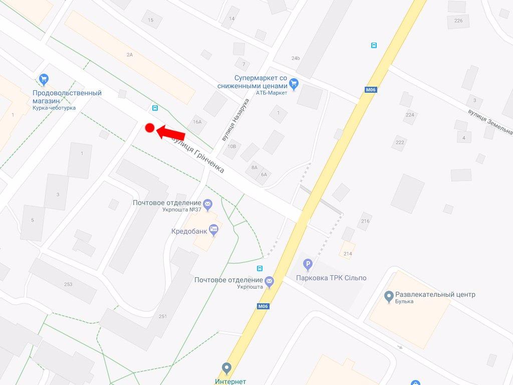 IDMedia Арендовать и разместить Ситилайт в городе Львов (Львовская область) №177552 схема