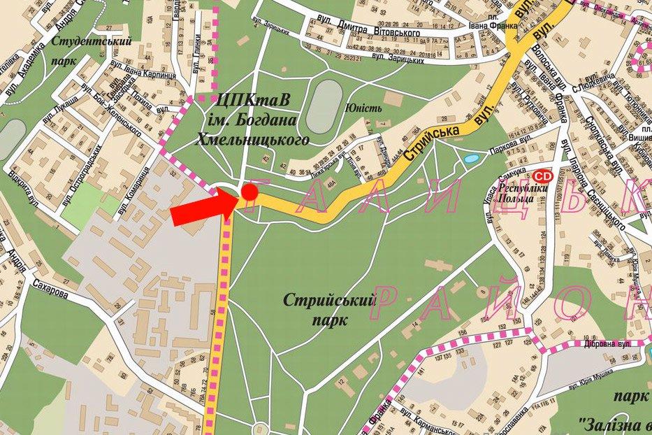 IDMedia Арендовать и разместить Скролл в городе Львов (Львовская область) №177631 схема