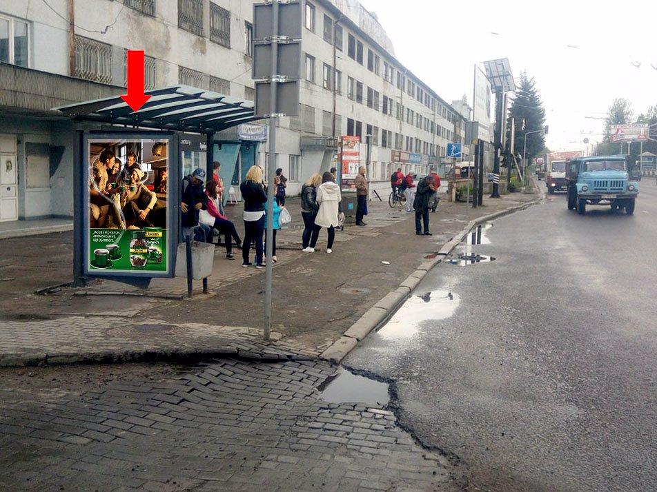 Ситилайт №177641 в городе Львов (Львовская область), размещение наружной рекламы, IDMedia-аренда по самым низким ценам!