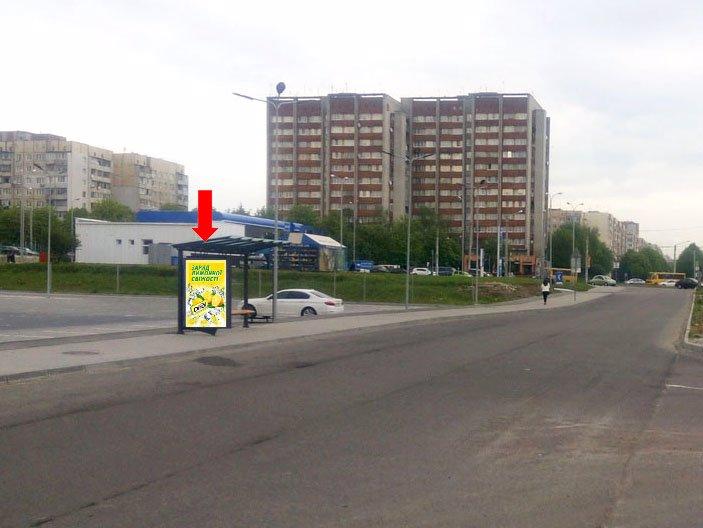 Ситилайт №177643 в городе Львов (Львовская область), размещение наружной рекламы, IDMedia-аренда по самым низким ценам!