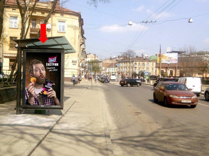 Ситилайт №177655 в городе Львов (Львовская область), размещение наружной рекламы, IDMedia-аренда по самым низким ценам!