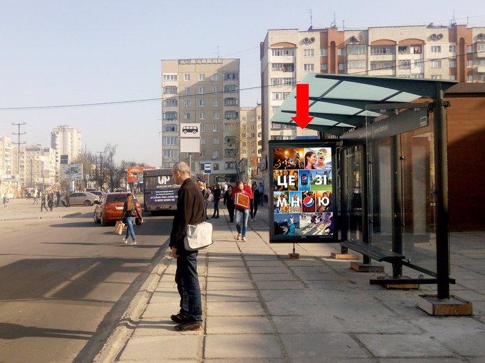 Ситилайт №177780 в городе Львов (Львовская область), размещение наружной рекламы, IDMedia-аренда по самым низким ценам!