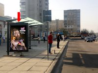 Ситилайт №177781 в городе Львов (Львовская область), размещение наружной рекламы, IDMedia-аренда по самым низким ценам!