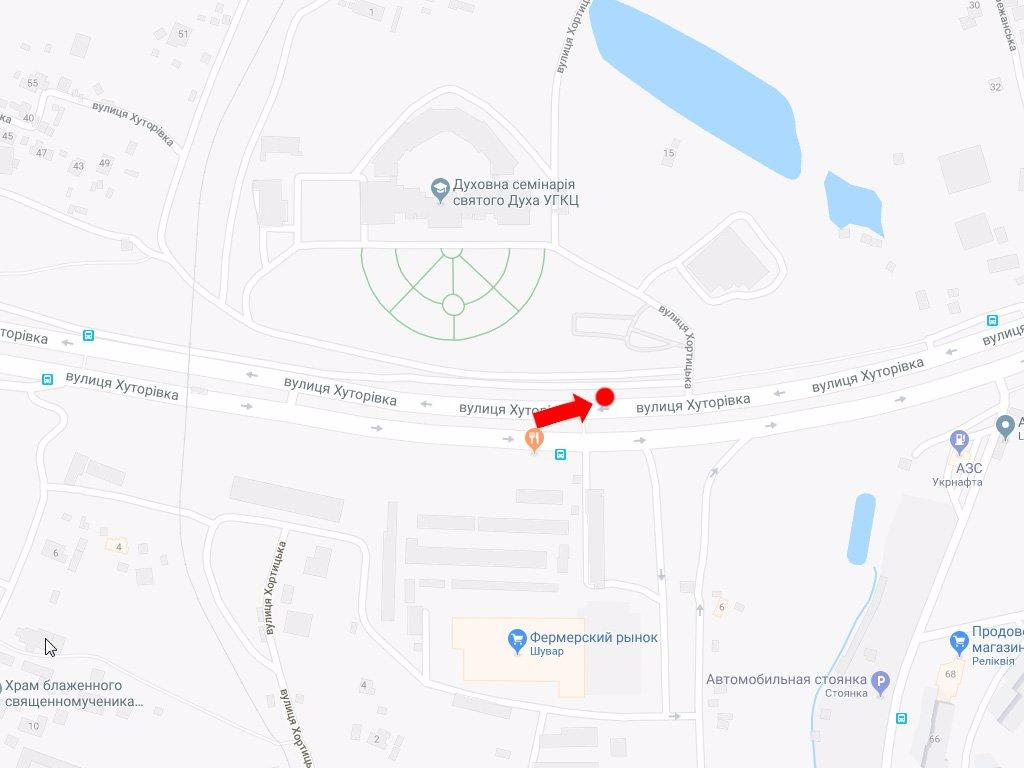IDMedia Арендовать и разместить Ситилайт в городе Львов (Львовская область) №177855 схема