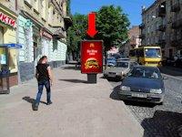 Ситилайт №177974 в городе Львов (Львовская область), размещение наружной рекламы, IDMedia-аренда по самым низким ценам!