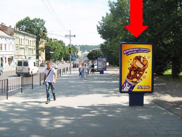 Ситилайт №178137 в городе Львов (Львовская область), размещение наружной рекламы, IDMedia-аренда по самым низким ценам!