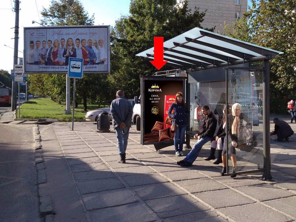 Ситилайт №178148 в городе Львов (Львовская область), размещение наружной рекламы, IDMedia-аренда по самым низким ценам!