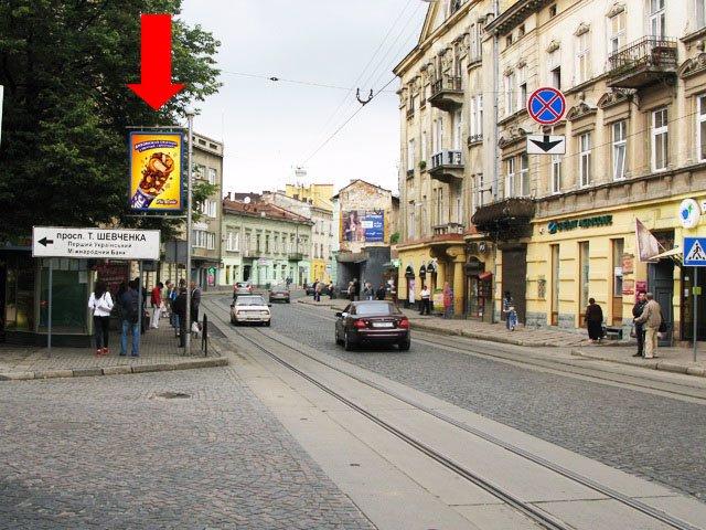 Ситилайт №178220 в городе Львов (Львовская область), размещение наружной рекламы, IDMedia-аренда по самым низким ценам!