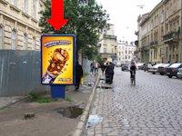 Ситилайт №178224 в городе Львов (Львовская область), размещение наружной рекламы, IDMedia-аренда по самым низким ценам!