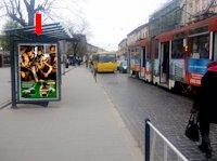 Ситилайт №178227 в городе Львов (Львовская область), размещение наружной рекламы, IDMedia-аренда по самым низким ценам!
