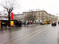 Ситилайт №178229 в городе Львов (Львовская область), размещение наружной рекламы, IDMedia-аренда по самым низким ценам!