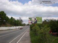 Билборд №178454 в городе Немиров (Винницкая область), размещение наружной рекламы, IDMedia-аренда по самым низким ценам!