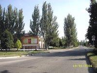 Билборд №179687 в городе Марганец (Днепропетровская область), размещение наружной рекламы, IDMedia-аренда по самым низким ценам!