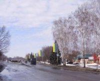 Холдер №179881 в городе Лубны (Полтавская область), размещение наружной рекламы, IDMedia-аренда по самым низким ценам!