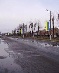 Холдер №179883 в городе Лубны (Полтавская область), размещение наружной рекламы, IDMedia-аренда по самым низким ценам!