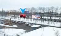 Бэклайт №180451 в городе Борисполь (Киевская область), размещение наружной рекламы, IDMedia-аренда по самым низким ценам!