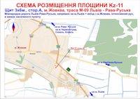 Билборд №186936 в городе Жовква (Львовская область), размещение наружной рекламы, IDMedia-аренда по самым низким ценам!