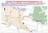 Билборд №186937 в городе Жовква (Львовская область), размещение наружной рекламы, IDMedia-аренда по самым низким ценам!