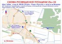 Билборд №187007 в городе Жовква (Львовская область), размещение наружной рекламы, IDMedia-аренда по самым низким ценам!