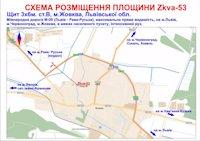 Билборд №187015 в городе Жовква (Львовская область), размещение наружной рекламы, IDMedia-аренда по самым низким ценам!