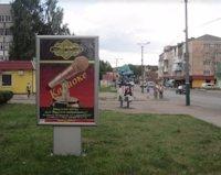 Ситилайт №187086 в городе Владимир-Волынский (Волынская область), размещение наружной рекламы, IDMedia-аренда по самым низким ценам!