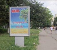 Ситилайт №187088 в городе Владимир-Волынский (Волынская область), размещение наружной рекламы, IDMedia-аренда по самым низким ценам!