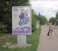 Ситилайт №187090 в городе Владимир-Волынский (Волынская область), размещение наружной рекламы, IDMedia-аренда по самым низким ценам!