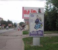 Ситилайт №187091 в городе Владимир-Волынский (Волынская область), размещение наружной рекламы, IDMedia-аренда по самым низким ценам!