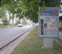 Ситилайт №187093 в городе Владимир-Волынский (Волынская область), размещение наружной рекламы, IDMedia-аренда по самым низким ценам!