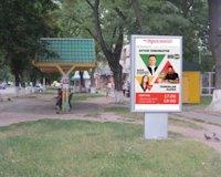 Ситилайт №187097 в городе Владимир-Волынский (Волынская область), размещение наружной рекламы, IDMedia-аренда по самым низким ценам!