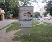 Ситилайт №187098 в городе Владимир-Волынский (Волынская область), размещение наружной рекламы, IDMedia-аренда по самым низким ценам!
