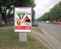 Ситилайт №187100 в городе Владимир-Волынский (Волынская область), размещение наружной рекламы, IDMedia-аренда по самым низким ценам!